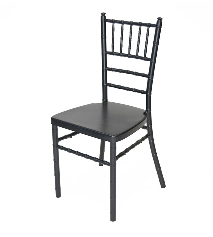 black aluminum chiavari chair wholesale
