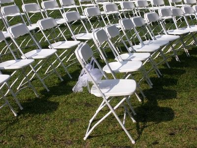 Outdoor Rental Chairs Weddings Wedding Venue Folding Chairs