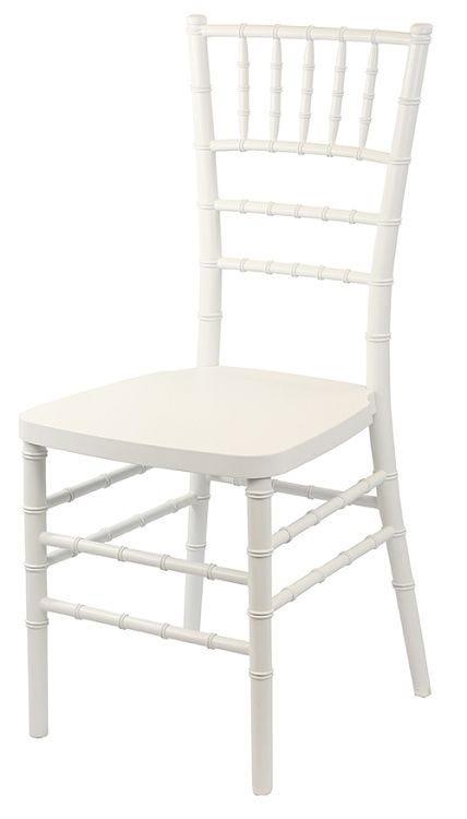 Fabulous White Resin Chiavari Chair Steel Inner Core Free Cushion Creativecarmelina Interior Chair Design Creativecarmelinacom