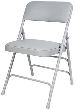 Marvelous Free Shipping Gray Vinyl Metal Folding Chair Theyellowbook Wood Chair Design Ideas Theyellowbookinfo