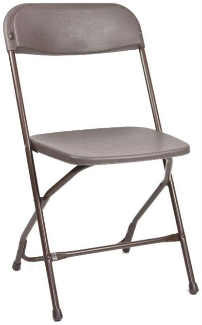 Discount Folding Brown Plastic Folding Chair Florida Poly