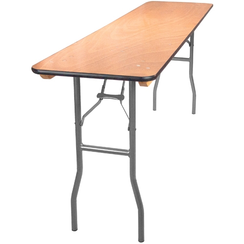 18 X 72 Folding Table.18 X 72 Plywood Folding Table