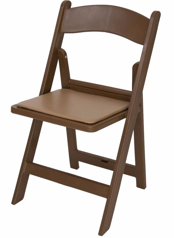 Brown Resin Wedding Chair 1 000 Lb Cap
