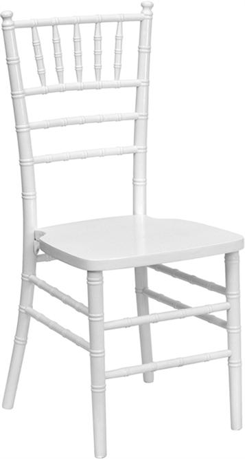 Miami Chiavari Wood Chairs White Chiavari Chair
